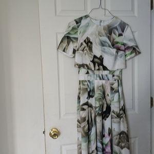 Asos floral dress size 4